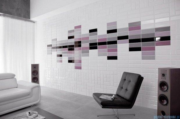 Paradyż Tamoe ondulato grafit płytka ścienna 9,8x19,8