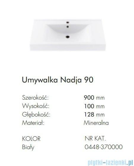 Aquaform Nadja umywalka 90cm 0448-370000