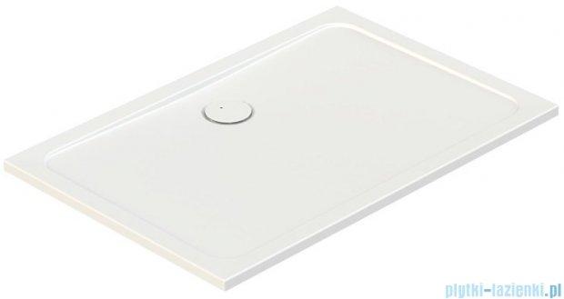 Sanplast Free Line brodzik prostokątny B/FREE 80x140x2,5 cm + stelaż 615-040-4410-01-000