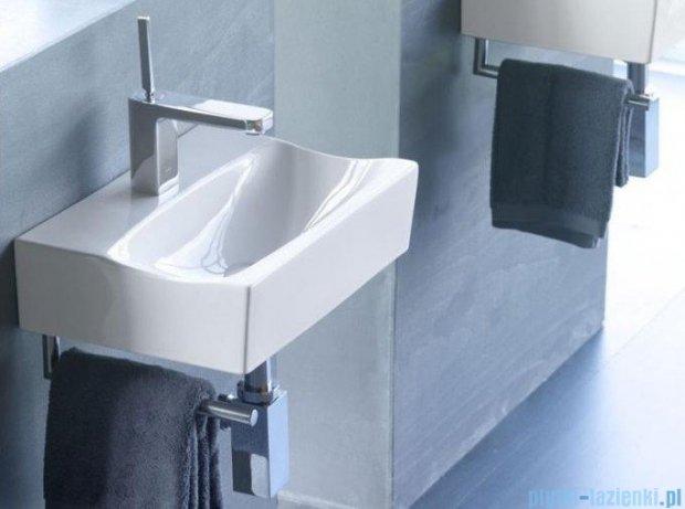Bathco umywalka podwieszana z relingiem Rhin 42,5x30 cm 4902