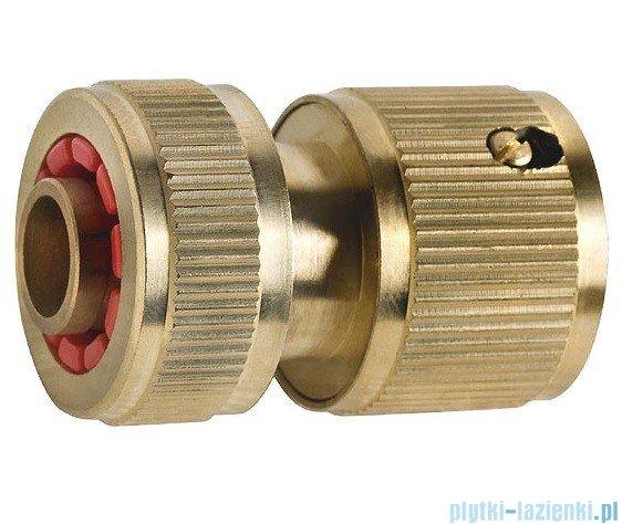 Ferro Szybko złącze mosiężne z zaworem stopowym 1/2 DY8011C