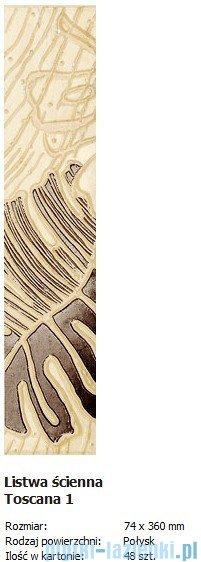 Domino L-Toscana 1 7,4x36