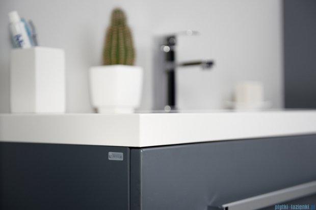 Antado Variete szafka z umywalką, wisząca 70x50x33 szary połysk FM-442/7-K917 + UNA-700