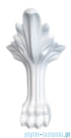 Besco Otylia wanna owalna Retro 170x77 + nogi białe #WKO-170WO+B