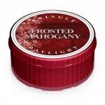 FROSTED MAHOGANY - świeczka zapachowa KRINGLE CANDLE