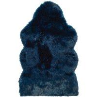 Skóra Winter Home - Midnight Wolf - niebieska