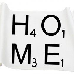 Bieżnik French Home - HOME M - biały