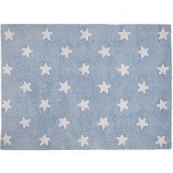 Dywan do prania w pralce - Lorena Canals STARS - niebieski