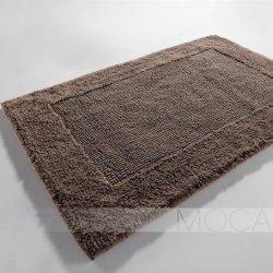 Dywanik łazienkowy Moca Design - Frame - beżowy