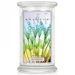 DEW DROPS - świeca zapachowa KRINGLE CANDLE - 100 godzin
