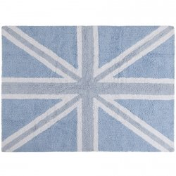 Dywan do prania w pralce - Lorena Canals UK FLAG - niebieski