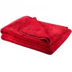 Koc Moca Design Soft Line - czerwony