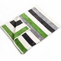 Koc Moca Design Stripes - zielony
