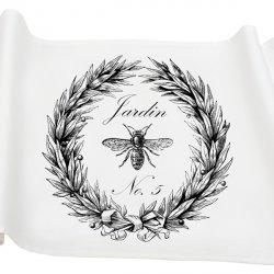 Bieżnik French Home - Jardin M - biały