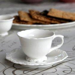 PROVENCE CHIC - filiżanka z podstawką do kawy