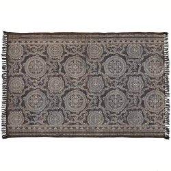 Dywan Belldeco EcoEtno - Ornament - brązowy 120x180 cm