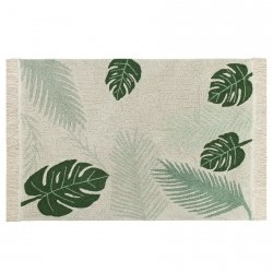 Dywan do prania w pralce - Lorena Canals PLANTS - TROPICAL GREEN