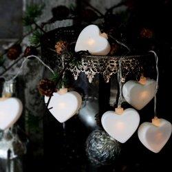 Lampki dekoracyjne Chic Antique - Serduszka