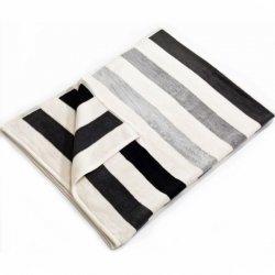 Koc Moca Design Stripes - szary