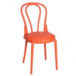 Krzesło Belldeco SPRING - pomarańczowe