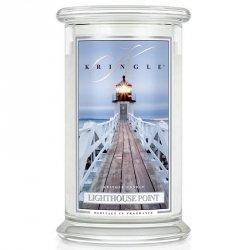 LIGHTHOUSE POINT - świeca zapachowa KRINGLE CANDLE - 100 godzin
