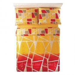 Pościel Benetton Street Żółto-Czerwona