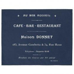 Serweta / podkładka French Home - Cafe Bar - granatowa