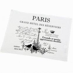 Serweta / podkładka French Home - Paris - biała