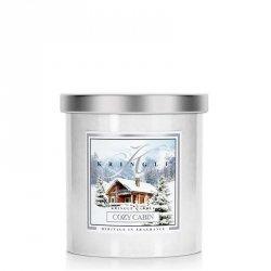 COZY CABIN - świeca zapachowa KRINGLE CANDLE - 50 godzin