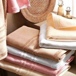 Ręcznik Tac - Solid - biały ecru beżowy różowy