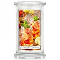 STRAWBERRY LEMONADE - świeca zapachowa KRINGLE CANDLE - 100 godzin