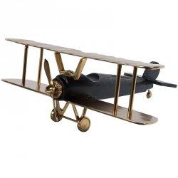 Dekoracja Belldeco - Samolot - złoty