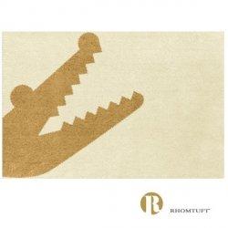 Dywanik łazienkowy Rhomtuft - Croc - waniliowy