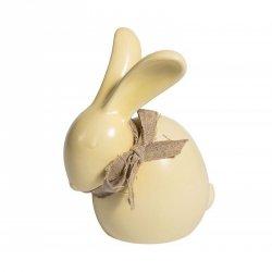 Figurka Belldeco - Zając Wielkanocny - żółty