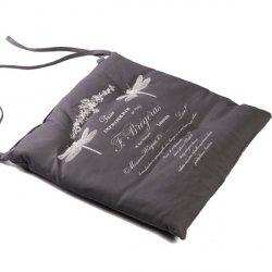 Poduszka na krzesło French Home - French - szara