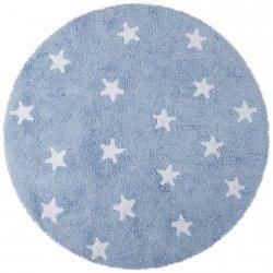 Dywan do prania w pralce - Lorena Canals CIELO - niebieski