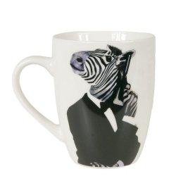 Funny Animals - kubek Zebra