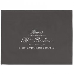 Zazdrostki French Home - Madame - szare - 70 cm