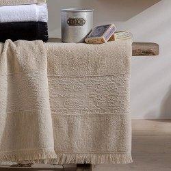 Ręcznik NAF NAF - Minos - beżowy