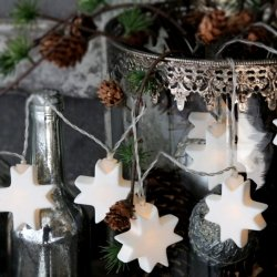 Lampki dekoracyjne Chic Antique - Gwiazdki