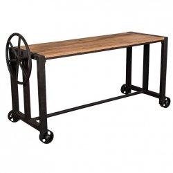 Stół / biurko Belldeco London - na kółkach 165x60 cm