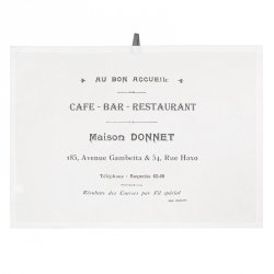 Ścierka kuchenna French Home - Cafe Bar