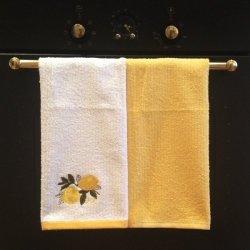 Komplet ręczników kuchennych Tac - CYTRYNKA