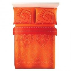 Pościel Benetton Tribal Pomarańczowo-czerwona