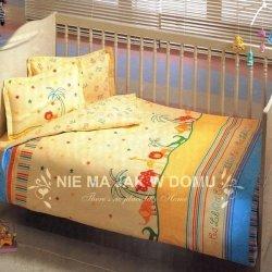 Pościel niemowlęca Tac Bio Baby Zoo Blue - 4 elem.
