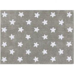 Dywan do prania w pralce - Lorena Canals STARS - szary