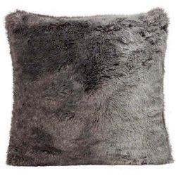 Poduszka futrzana Winter Home - Timberwolf - 45x45 cm