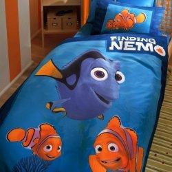 Pościel Tac - Finding Nemo + prześcieradło