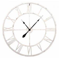 Zegar Old Style - 60 cm - biały