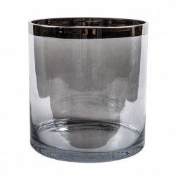 Wazon Belldeco XXL - Popiel - 28 cm